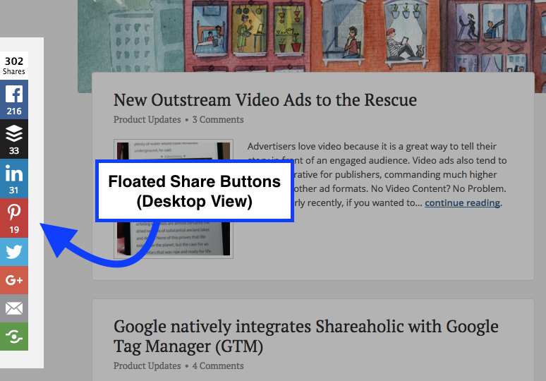 Floated Share Buttons (Desktop)